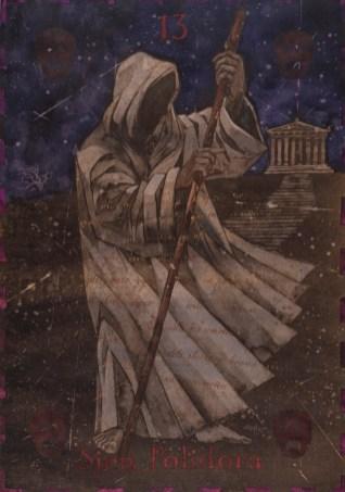 Siniša Reberski - Sjen Polidora, akvarel na papiru, 50x70cm, 2019., foto: Josip Strmečki