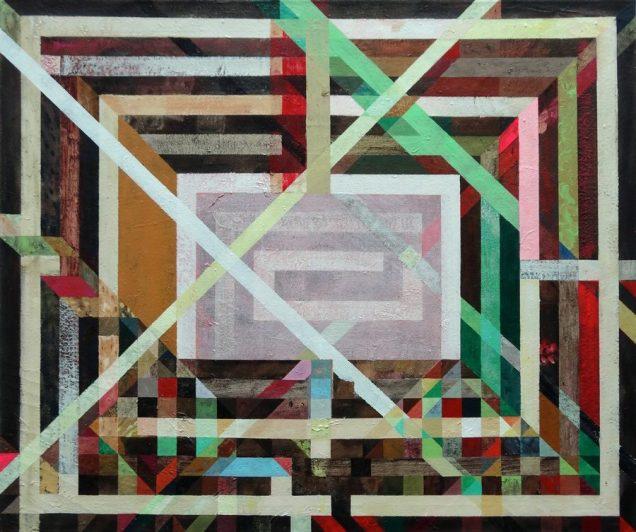 Paint like Jofes Albers; ulje, jajčana tempera, akrilik/platno, 2001.-2013.