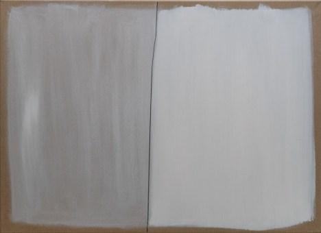 """Trag Karbona"", 80x110cm, akril i ugljen na platnu, 2017."