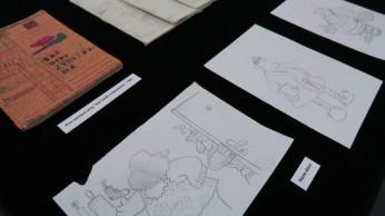 Postav izložbe - arhivski materijali