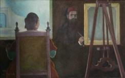 Nedeljko Tintor - Vjekoslav Karas, 1999. ulje na platnu