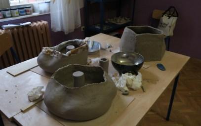 Radionica keramike: Snježana Pokos-Vujec i Danijela Pičuljan