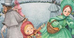 Patricio Aguero - Djevojka sa šibicama; akvarel, 2018.