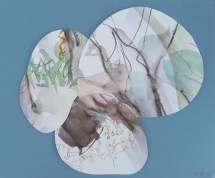 Serija kolaža od odbačenih akvarela