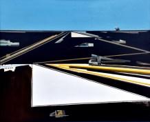 Pustopoljina - ulje na lesonitu, 87x105cm, 2003.