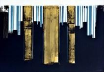 Kodovi zemlje i vode - akrilik/ljepenka, 72x102cm, 2006.