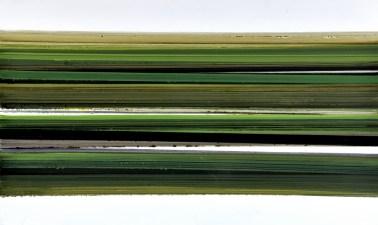 Zelene strukture ravnice III - akrilik/drvo, 83x138cm, 2014.