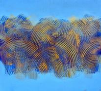 Klasje V. - akrilik/drvo, 92x102cm, 2013.