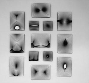 Gordana Kuč - Ja je netko drugi, slika-objekt, 30x40cm, 2017.