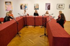 Okrugli stol: Ivana Bajcer, Lena Kramarić, Mirela Blažević, Sonja Švec Španjol, Mateja Rusak, Marina Ćorić, Nikolina Šimunović