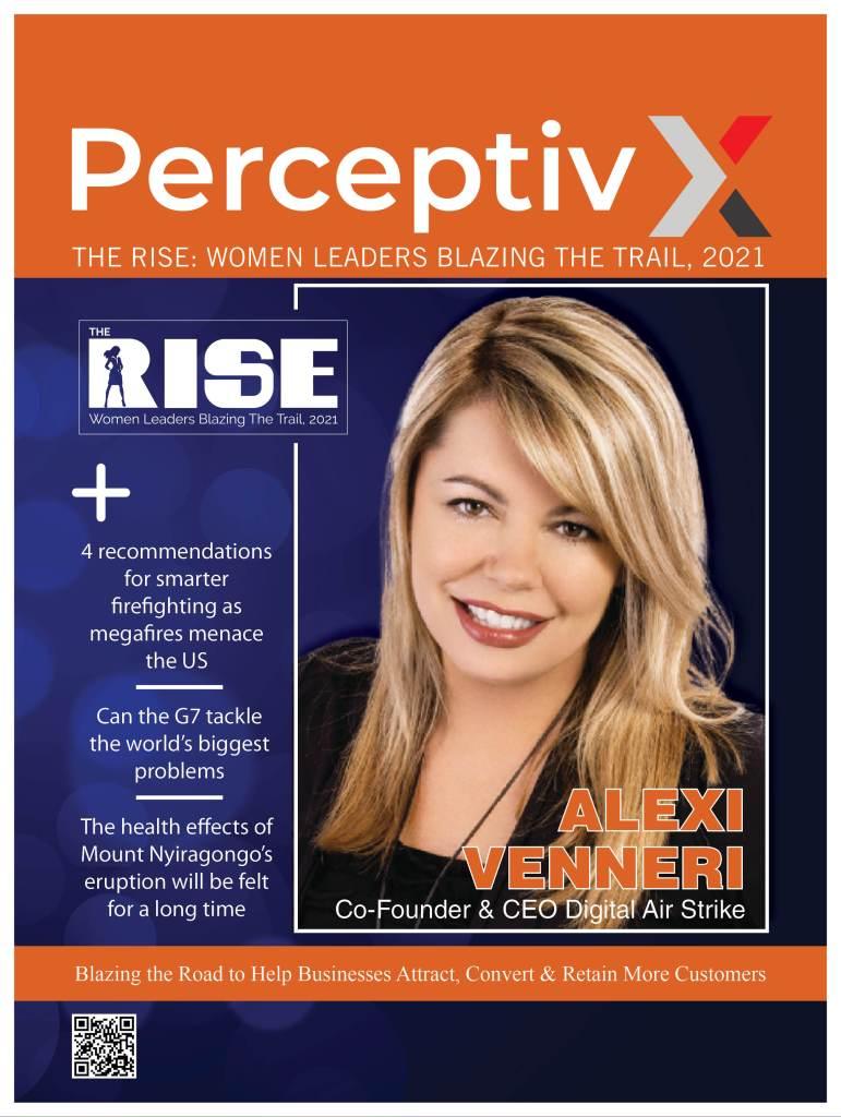 PerceptivX Magazine: Rise of Women Leaders, 2021