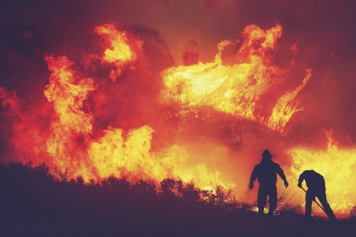 Satellites can already spot a new fire within minutes, but the information they beam back to Earth isn't getting to everyone who needs it or used as well as it could be.