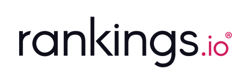 The logo of the website Rankings.io