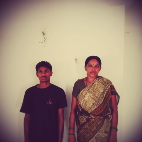 Manju and Lakshmi, who made sure things were spic and span