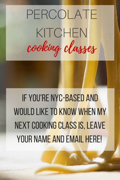 Percolate Kitchen Cooking Classes