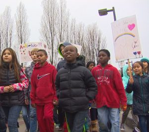 kids march for MLK