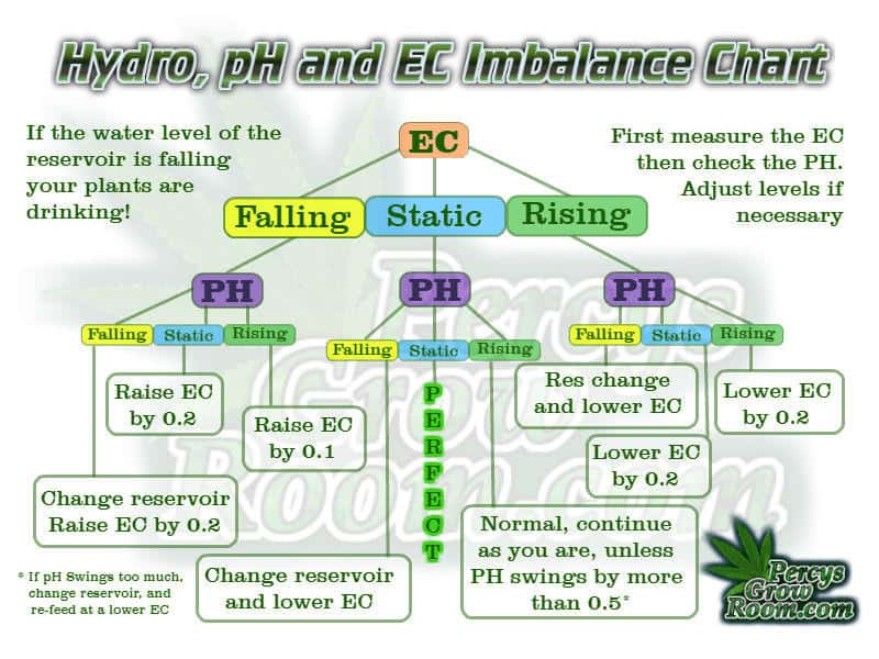EC and PH Fluctuations in Hydroponics – Hydroponic Growing