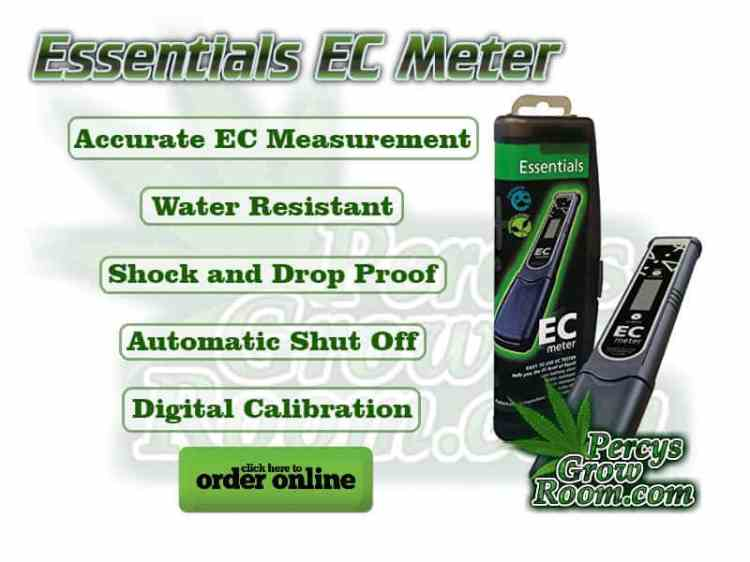 Essentials EC meter, Accurate Ec measurement, water resistant, shock and drop proof, automatic shut off, digital calibration, Cannabis growers forum & community, How to grow cannabis, how to grow weed, a step by step guide to growing weed, cannabis growers forum, need help with sick plant, what's wrong with my cannabis plant, percys Grow Room, the Grow Room, percys Grow Guides, we'd growing forum, weed growers community, how to grow weed in coco, when is my cannabis plant ready for harvest, how to feed my cannabis plant, beginners guide to growing weed, how to grow weed for personal use, cannabis plant deficiency, how to germinate cannabis seeds, where to buy cannabis seeds, best weed growers website, how to dry cannabis