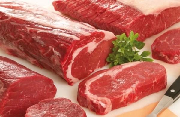Alimentos ricos em ferro carne-vermelha
