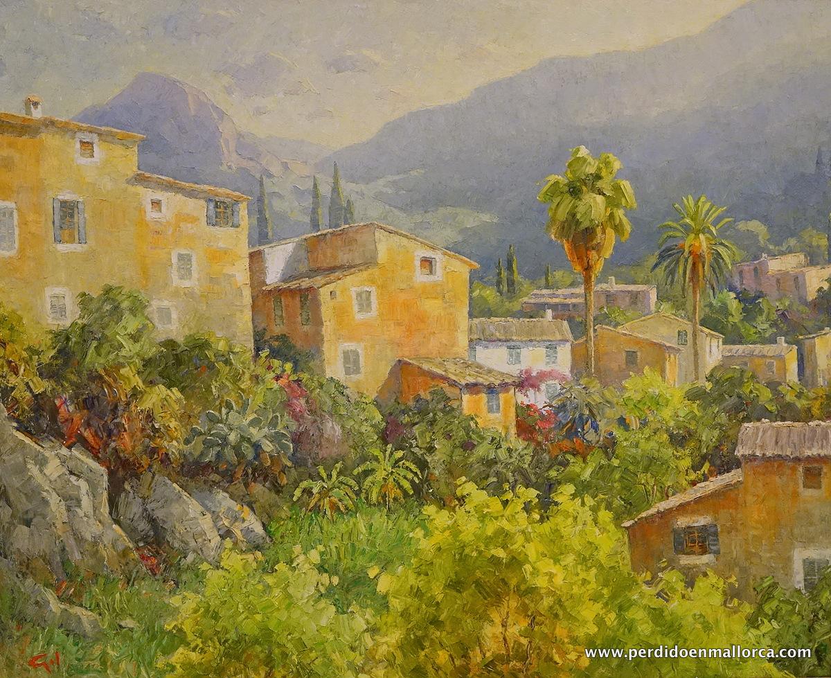 Guillem Gil pintor de la Serra de Tramuntana  PERDIDO