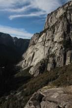 Vista da trilha para cachoeira Yosemite superior