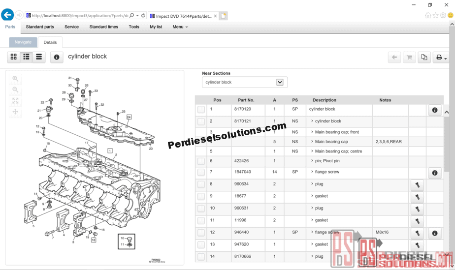 hight resolution of volvo impact 2018 electronic parts catalog