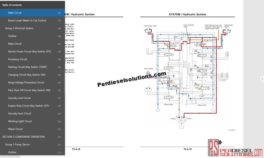 hight resolution of hitachi hidraulic wiring diagram