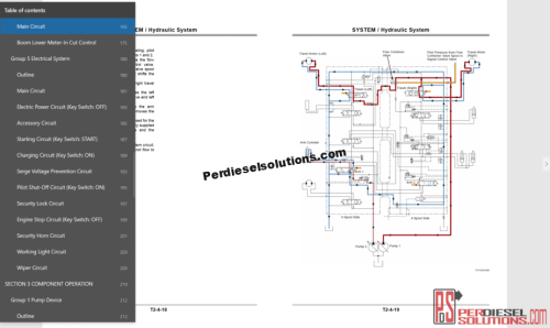 small resolution of hitachi hidraulic wiring diagram