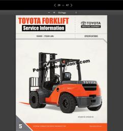 toyota forklift truck full service information parts repair diagrams [ 2559 x 1530 Pixel ]