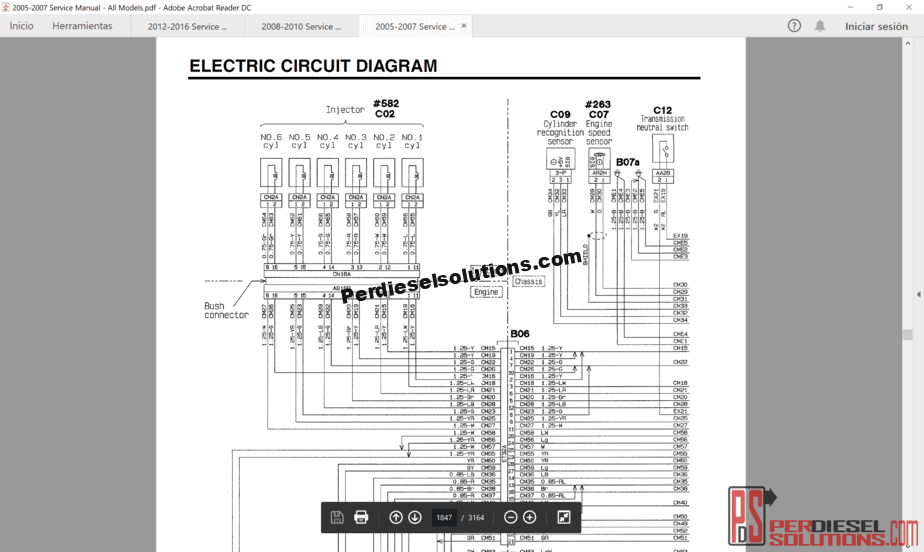 hight resolution of wiring diagram for mitsubishi truck