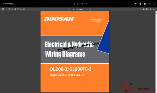 small resolution of wiring diagrams doosan