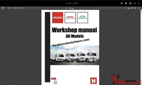 small resolution of isuzu workshop manual all models
