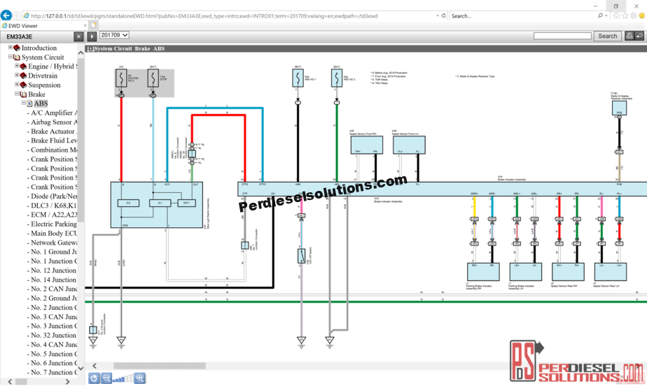 medium resolution of toyota lexus electrical wiring diagram