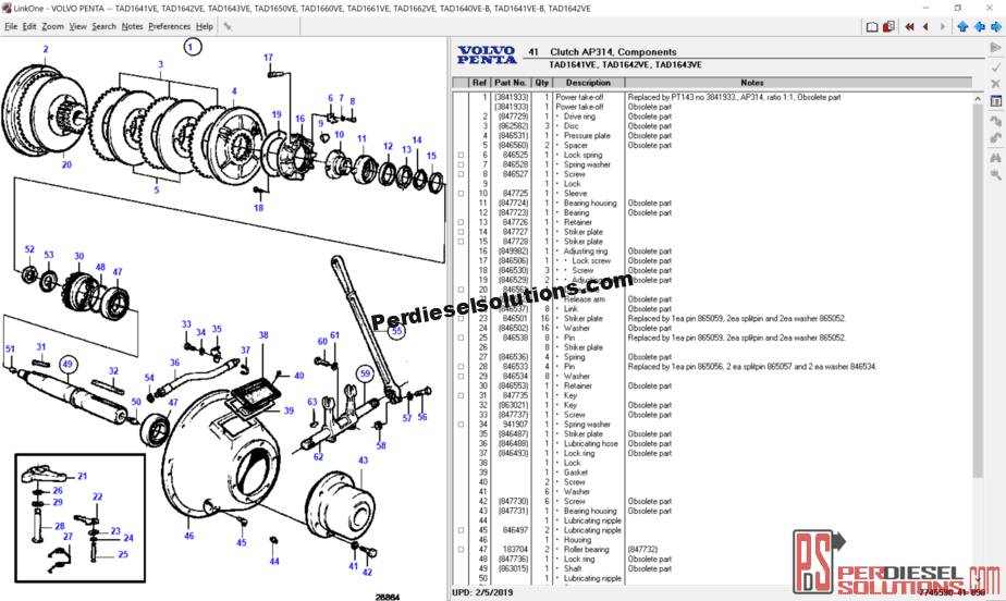 hight resolution of volvo penta electronic parts catalog 2019