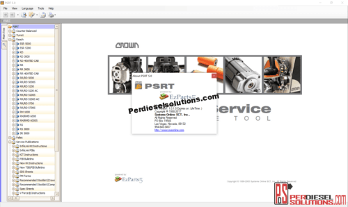 small resolution of crown forklift trucks psrt 02 2019 parts catalog and service manual
