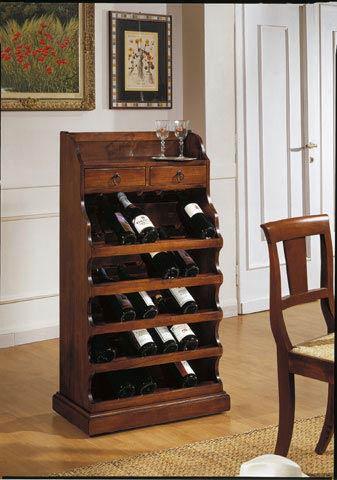 Porta bottiglie arte povera linea Mahler  Perego