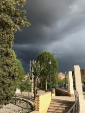 Moody Skies over Guadix