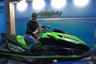 Messing about (Kawasaki World, Kobe)