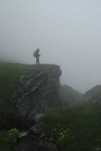 Daria w górach, słaba widoczność