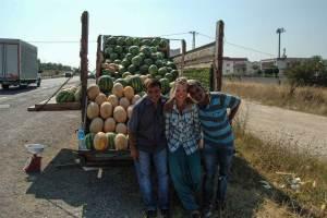 Daria i sprzedawcy melonów