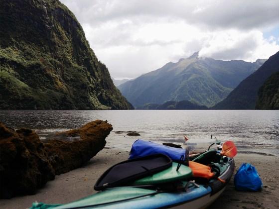 Overnight Kayak - Doubtful Sound - Fiordland - New Zealand - © Claire Blumenfeld