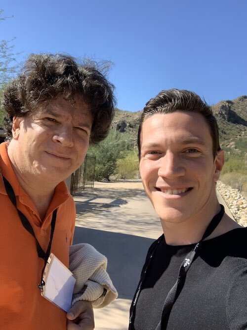 on't think I've ever met somebody as inspiring as  Eric Weinstein . I haven't been the same since our conversation — and all for the better. What an exceptional person.