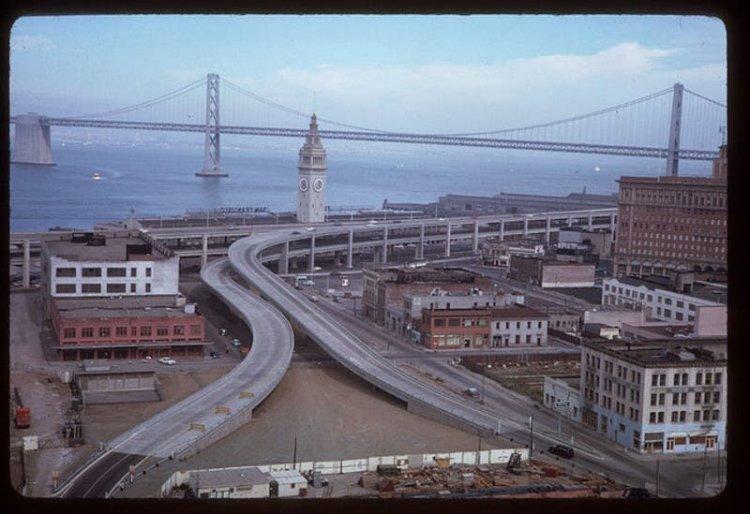 The Old Embarcadero Freeway
