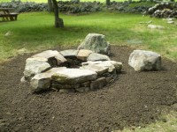 Fire pits and patios for wood and steep areas on Pinterest ...