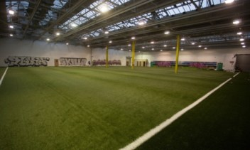 Dundee's new indoor training facility and academy.