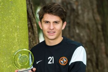 Charlie Telfer won the SPFL Young Player of the Month award in November.