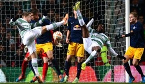 Celtic finished second in their Europa League group.