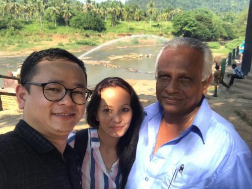 With Tshering & Deepa