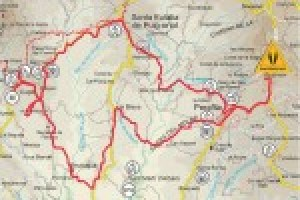 Mapa ruta Puigmajor-Lluçà