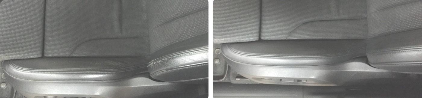 отремонтировать кожу авто